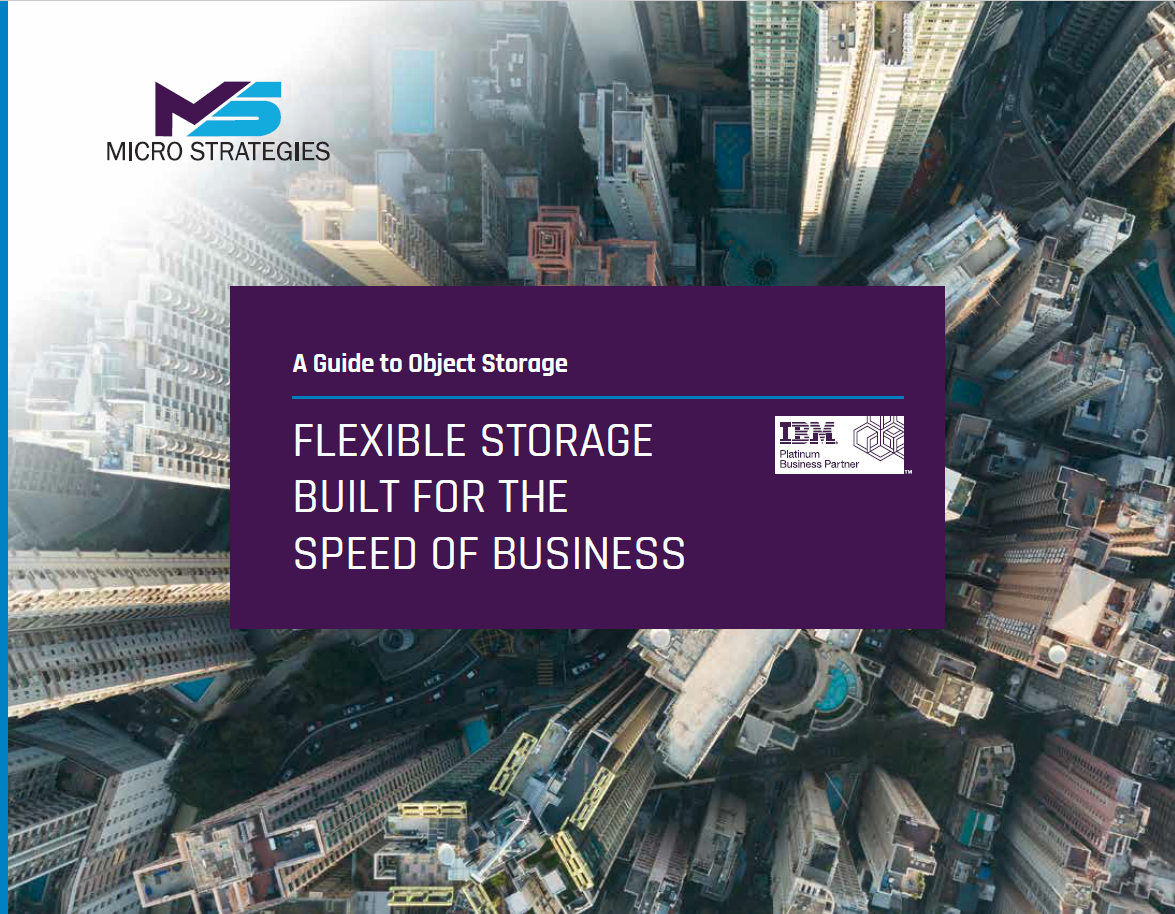 Flexible Storage Built for the Speed of Business