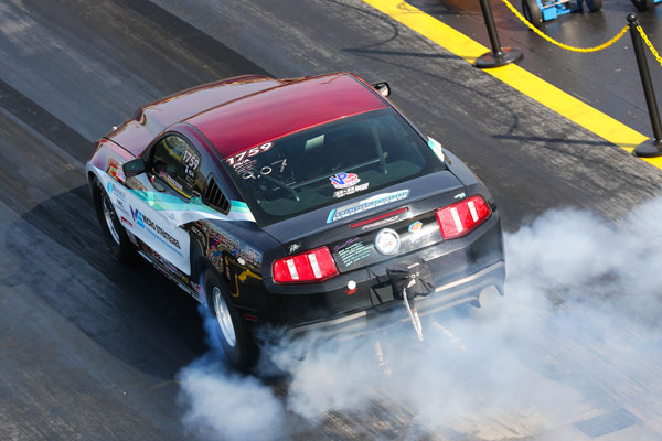 BONGIOVANNI  RACING DRIVER KEN MIELE SCORES SEMI-FINAL FINISH AT NHRA VIRGINIA NATIONALS